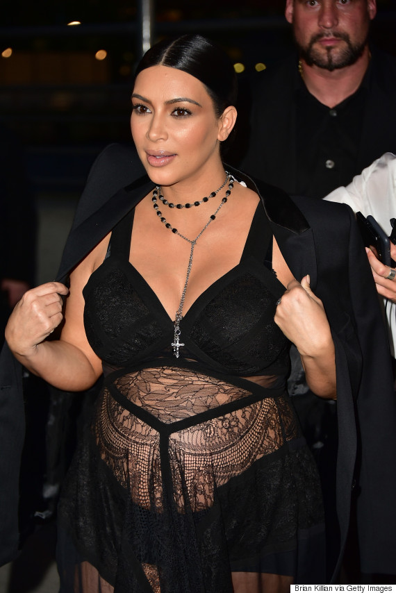 kim kardashian new york fashion week