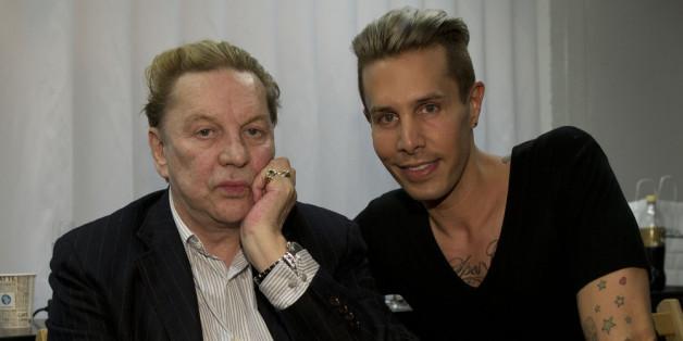 Kein Paar mehr: Schauspieler Helmut Berger (l.) und Designer Florian Wess