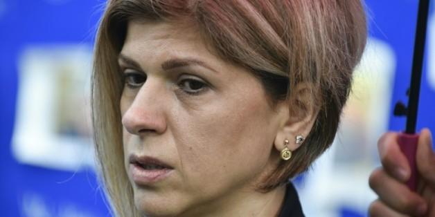 Fatima Kurdi, la tante d'Aylan Kurdi mort noyé en fuyant la Syrie, à Bruxelles, le 14 septembre 2015