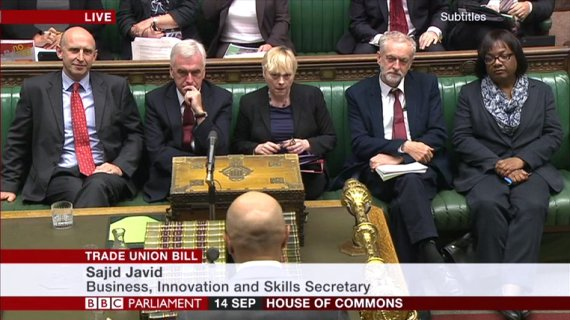 corbyn frontbench