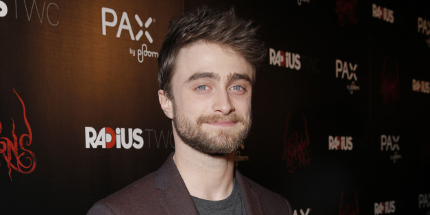 "IMAGE DISTRIBUTED FOR RADIUS-TWC - Daniel Radcliffe attends a special screening of Radius-TWC's ""Horns"" presented by  PAX by Ploom at ArcLight Hollywood on October 30, 2014 in Hollywood, Calif. (Photo by Todd Williamson/Invision for RADiUS-TWC/AP Images)"