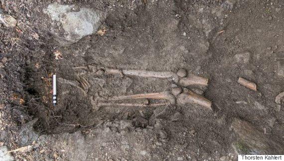 1000yearold skeleton