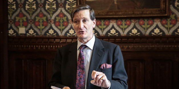 Dominic Grieve QC MP at the launch of the follow-up report by the Low Commission in the Jubilee Room in the Palace of Westminster in London organised by Legal Action Group