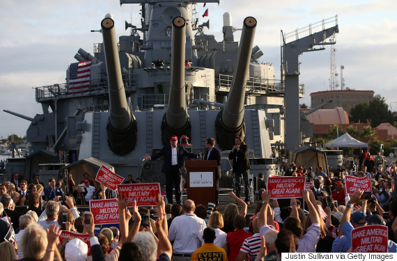 trump uss iowa