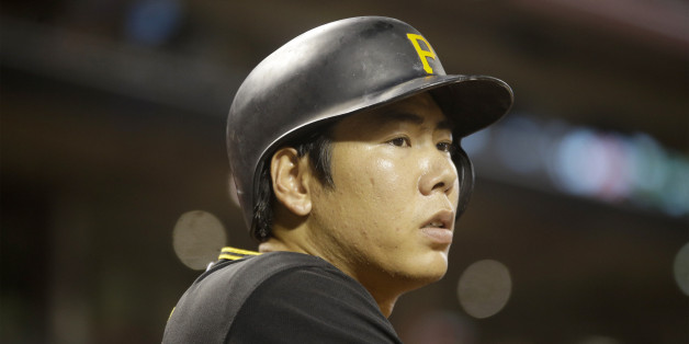 Pittsburgh Pirates third baseman Jung Ho Kang during a baseball game against the Cincinnati Reds, Tuesday, Sept. 7, 2015, in Cincinnati. (AP Photo/Tony Tribble)