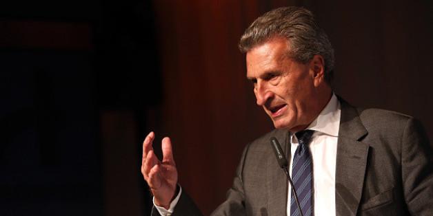 """EU-Kommissar Günther Oettinger eröffnet in diesem Jahr die """"dmexco 2015"""" in Köln."""