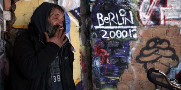 In Berlin leben etwa 6000 Obdachlose. 70 Prozent von ihnen kommen aus dem Ausland.