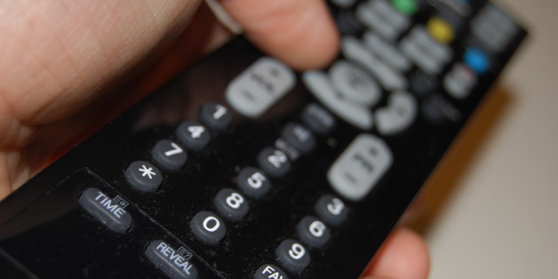 A remote controller for Television.