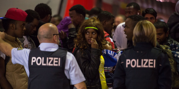 Tausende Flüchtlinge sind in den vergangenen Tagen alleine in München angekommen