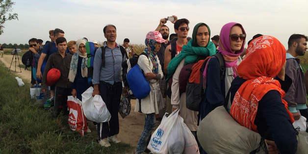 Seit Mittwoch versuchen immer mehr Menschen, über die kroatisch-ungarische Grenze weiter nach Westeuropa zu gelangen.