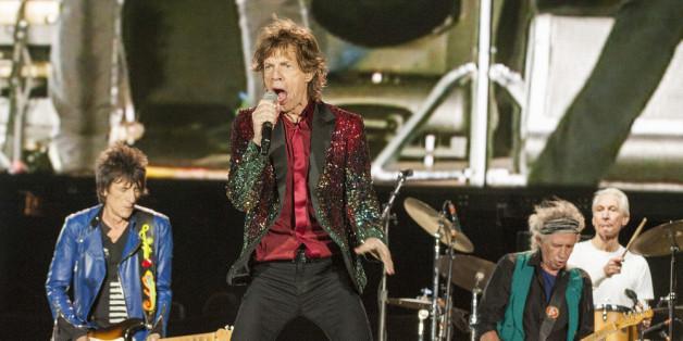 Die Rolling Stones auf einem kanadischen Festival