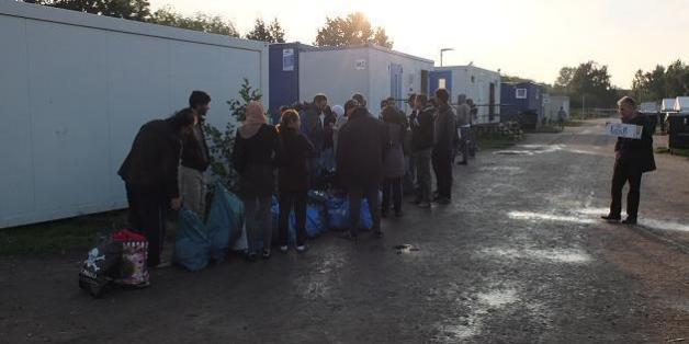 30 Stunden undercover in einem Hamburger Flüchtlingsheim
