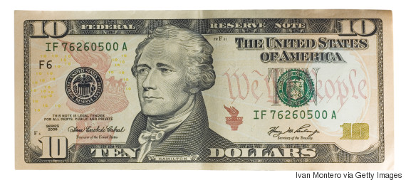 us 10 dollar bill