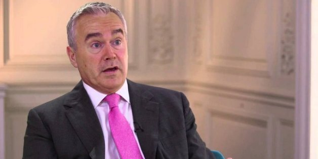 BBC 10 o'clock News presenter Huw Edwards