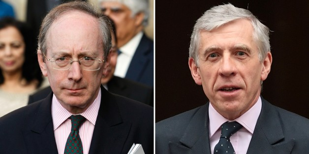 In a combination of file pictures created on February 23, 2015 British politician Malcolm Rifkind (L) leaves an Observance for Commonwealth Day Service at Westminster Abbey in London, on 12 March 2012 and British politician Jack Straw (R) leaves after a cabinet meeting at 10 Downing Street, in London, on October 7, 2008. Two British former foreign ministers faced claims on February 23, 2015 that they offered to use their positions to help a private company in return for cash following an undercover investigation. Jack Straw, who was Labour foreign secretary when Britain helped invade Iraq in 2003, and Malcolm Rifkind, a senior figure in Prime Minister David Cameron's Conservative party, were accused after a probe by the Daily Telegraph newspaper and Channel 4 television.   AFP PHOTO / JUSTIN TALLIS / LEON NEAL        (Photo credit should read LEON NEAL,JUSTIN TALLIS/AFP/Getty Images)