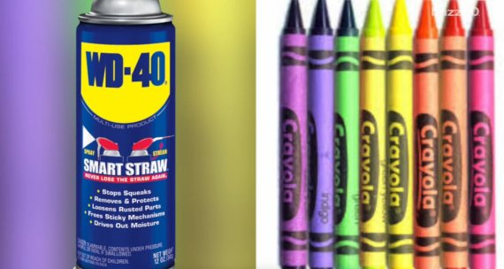 crayon stains
