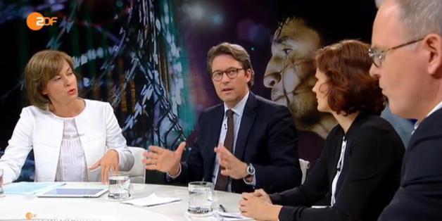 """Andreas Scheuer bei """"Maybrit Illner"""""""
