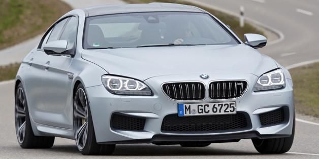 Kraftvolle Eleganz: BMW M6 Grand Coupé