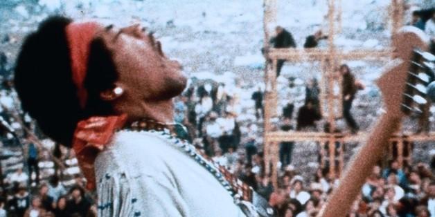 Jimi Hendrix zelebrierte seine Auftritte wie kein anderer.