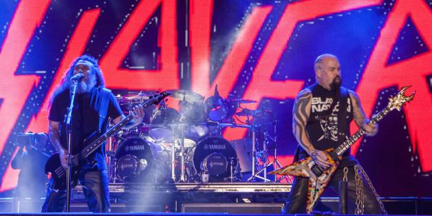 Slayer rocken die Chartspitze