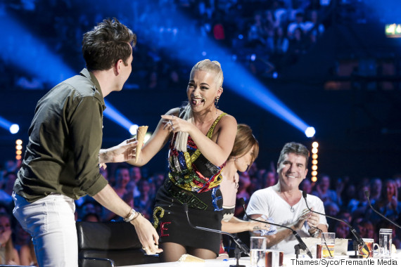 x factor ice cream