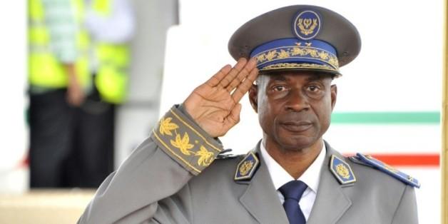 Le Général Gilbert Diendéré, le 18 septembre 2015 à Ouagadougou  © AFP AHMED AUOBA