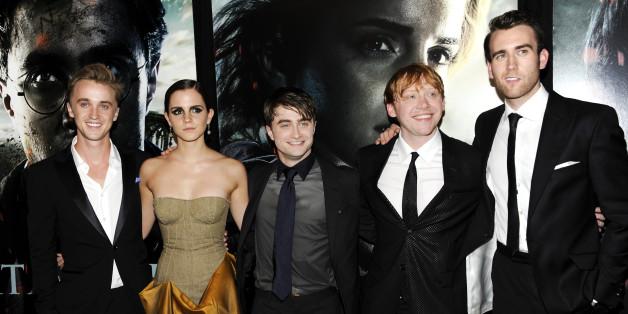 영화 '해리포터'의 주인공들, 2011
