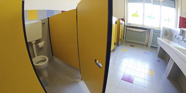 In deutschen Schulklos sieht es oftmals schlecht aus