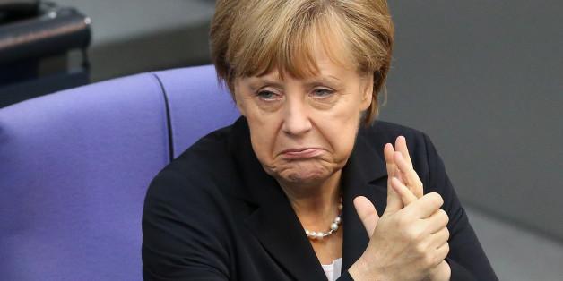 Merkel steht wegen ihrer Haltung in der Flüchtlingskrise in der Kritik.