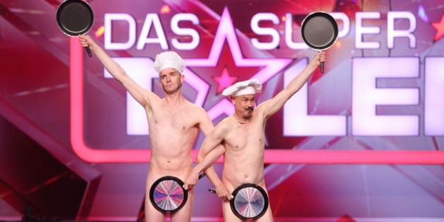 "Das Comedy-Duo ""Naked Lunch"" beim ""Supertalent"""