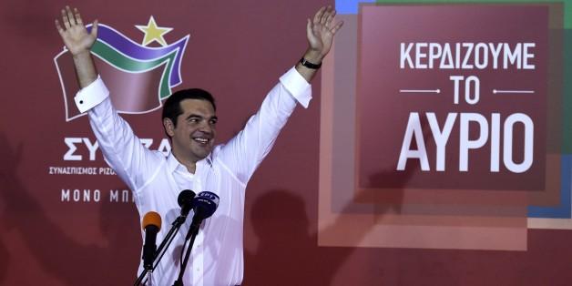 Wahlgewinner Alexis Tsipras