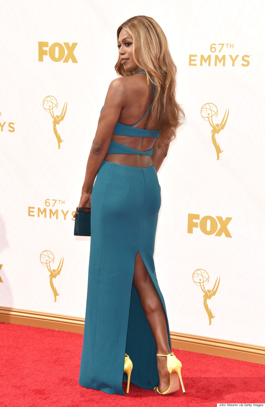 Laverne Cox Emmys 2015: \'Orange is the New Black\' Star Stuns In ...