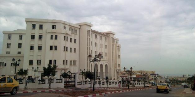 Une vue du tribunal de Mostaganem