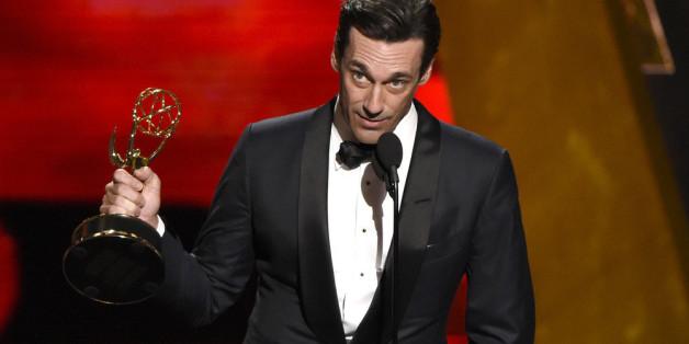 Jon Hamm erhielt am Sonntag in Los Angeles seinen ersten Emmy