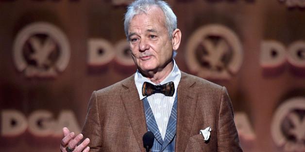 "Bill Murray wurde durch die Kultserie ""Ghostbusters"" berühmt. Er feiert seinen 65. Geburtstag."