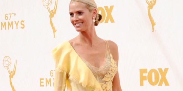 Heidi Klum bei der Emmy-Verleihung