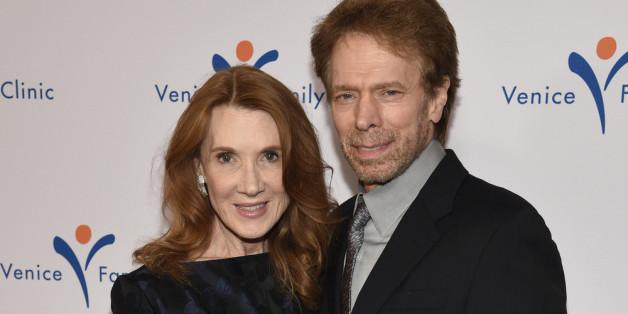 Jerry Bruckheimer und seine Frau Linda im März 2015 in Beverly Hills