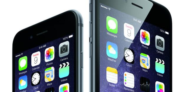 Die neuen Iphones: 6 und 6s