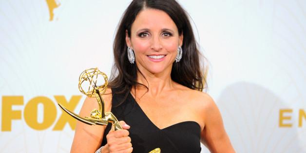 """""""Veep""""-Star Julia Louis-Dreyfus konnte sich nicht nur über den Emmy für die beste Comedyserie freuen."""