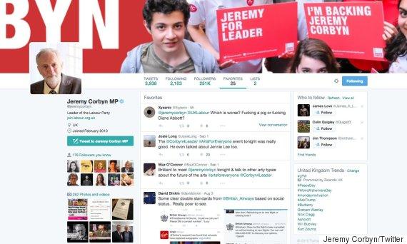 jeremy corbyn twitter