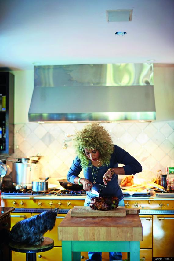 kelis in kitchen