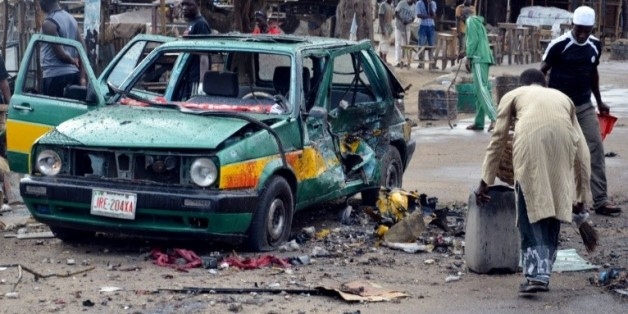 Une explosion a eu lieu dans le marché de Maiduguri (nord-est du Nigeria), le 31 juillet 2015  © AFP/Archives