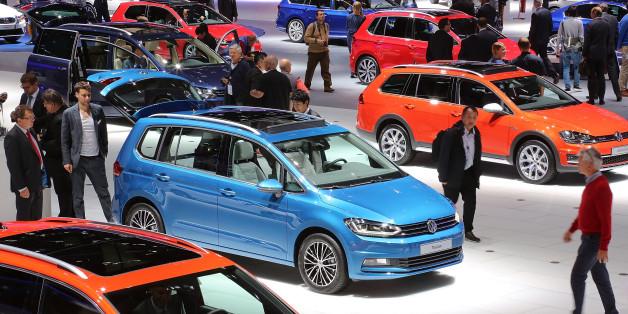 VW-Autos auf der IAA in Frankfurt