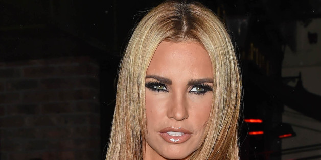 "Photo by: KGC-143/STAR MAX/IPx 2015 9/16/15 Katie Price at a book launch party for ""Gary Cockerill: Simply Glamorous"". (London, England, UK)"
