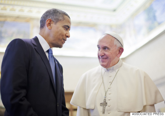 obama pope