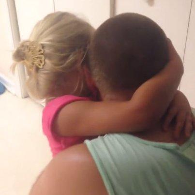 maddie hugs