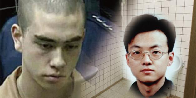 이태원 살인 사건의 범인 아더 패터슨(왼쪽)과 피해자 고 조중필씨.