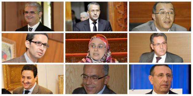 Ces ministres qui ont quitté le gouvernement Benkirane