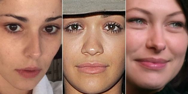 Celebs without make up