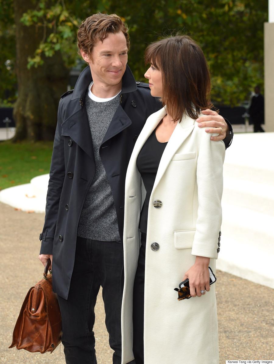 Benedict Cumberbatch Looks Devastatingly Handsome At Burberrys Mille Shopia Top Creme Beige M
